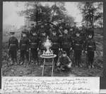 Captain E.H. Kelsey & Loring Area Militia at Niagara Falls 1912 Good PIcture