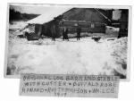 Old Cutter & Buffalo Robe 1914