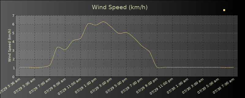 Daily Wind Speed